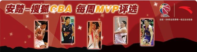 安踏-搜狐每周MVP评选