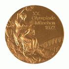 1972年慕尼黑奥运会奖牌