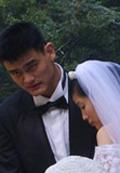 姚明叶莉百年好合,姚明,结婚,婚礼,NBA